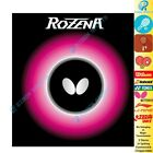 █EZBOX SPORTS█ Butterfly Table Tennis Rubber Rozena (Black/Red) 2.1mm