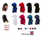 Kyпить Men's DURAG Bandanna Sports Du Rag Head Scarf Rap Tie Down Band Biker Cap B3 на еВаy.соm