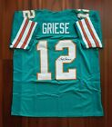 Bob Griese Autographed Signed Jersey Miami Dolphins JSA