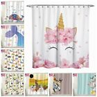 wild dogs for kids - Animal Dog&Cat Fabric Shower Curtain Set Bathtub For Kid 12Hooks 72Inch