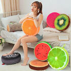 Fruit Design Couch Chair Sofa Bed Throw Pillow Round Soft Plush Cushion Seat Pad