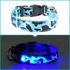 LED Camouflage Collar With Color Strip Light For Pet Dog/Cat