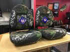 Boat Seats TEMPRESS BREAK-UP CAMO Navistyle Fold-Down  - PAIR (2) TWO SEATS