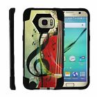 For Samsung Galaxy S7 Edge G935 Dual Layer Hybrid Kickstand Fitted Case Cover