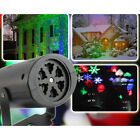 Snowflake Outdoor Landscape Garden Yard Projector Moving Laser Xmas Stage Lights