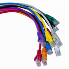 RJ45 Cat5e High Speed Cable Outdoor Ethernet Network LAN Patch Virgin Lead Lot