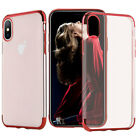 iPhone X 8 7 Plus Shockproof Cover Soft TPU Protective Case Clear for Apple