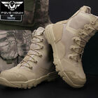 Combat Desert Shoes Tactical Military Leather Men Comfort Boots Wading Hiking