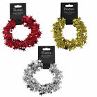 Christmas 7.5 Metre Wired Shiny Foil Star Garland - Choose Colour