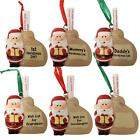 Christmas Hanging Tree Decoration - Santa Wish List - Choose Design