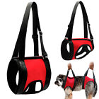Dog Front & Rear Lift Harness Adjustable Soft Help Elderly Injured Disabled Pets