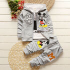 3 Pcs Baby Clothing Sets Kids Cartoon Clothes Children Sets Kids For 1-4 Years