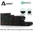 Aukey Quick Charge 3.0 Cell Phone Charger USB Wall Charger Smart Quick Charging