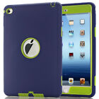 US 3 Layer Full Body Shockproof Silicone Protective Case Cover for iPad Mini 4