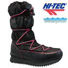 LADIES HI TEC WATERPROOF THERMAL WALKING HIKING WINTER WORK BOOTS SHOES TRAINERS