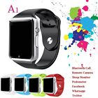 2017 Smart Wristwatch A1 Android IOS Smart Watch Phone Mate Unlocked GSM SIM