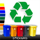 RECYCLE recycling vinyl sticker/decal for wheelie bins & containers (#ST015)