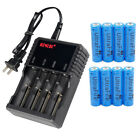 4 Slot LCD Universal charger for 26650 18650 16340 14500 Rechargeable battery