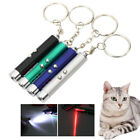 Rechargeable LED Flashlight Infrared UV Torch Laser Pointer Batterie Cat Toys