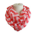 USA Seller Women's Infinity Chevron Scarf Scarves Thick Zig Zag Pattern Wrap