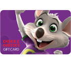 Chuck E. Cheese Gift Card - $25 $50 or $100 - Email delivery