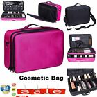 Beauty Make-Up Bag Portable Cosmetic Brush Case Storage Toiletry Organizer Carry