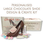 *NEW* Large Chocolate Shoe Create & Design Kit. Unique Gift. Completely Edible.