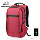 Kingsons Laptop Backpack External USB Charge Computer Backpacks Waterproof Bags