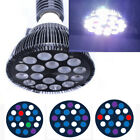 27W LED Aquarium Light PAR 38 LED Reef Lamp E27 Aquarium LED Bulbs for Reef Tank