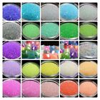 5g Container Fairy Micro Beads, Transparent, 23 Different Colors 1-1.5mm*