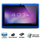 "7"" Tablet PC Quad Core Google Android 4.4 KitKat WIFI 8GB 7 Inch HD tablet"