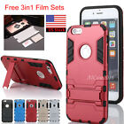 Iron Man Hybrid Rubber Hard Slim Case Cover with Kickstand For iPhone 6 6s Plus