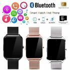 Bluetooth Smart Watch GSM SIM Phone Mate Z60 Stainless Steel For IOS Android image