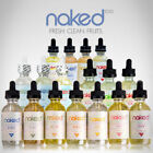 Naked NKD 100 ALL Flavors UVL Menthol Mecca Fruit The Ounce 100% AUTHENTIC 60ML