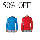 50% OFF Adidas Golf Comp Mens 1/4 Zip Pullover Stretch Sweater -SALE!