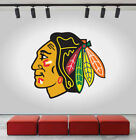 Chicago Blackhawks Logo Wall Decal Ice Hockey Sports Vinyl Sticker NHL CG203 $25.95 USD on eBay