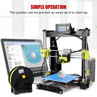 2018 Upgrated Aluminum 3D Printer Kit High Precision LCD Display 210*210*225mm