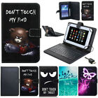 US For Sprint LG G Pad F2 8.0 LK460 Tablet PU Leather With Keyboard Case Cover