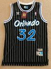 NWT Shaquille ONeal Shaq 32 Orlando Magic Throwback Basketball Jersey S XXL