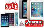 Apple (Gold/Black/etc) iPad 2/3/4, Air,mini 16GB/32GB/64GB/128GB WiFi+4G