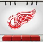 Detroit Red Wings Logo Wall Decal Ice Hockey Sports Vinyl Sticker NHL CG212 $40.95 USD on eBay