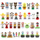 34 Patterns Solar Powered Shaking/Bobble Head Dancing Figures on Stage Ornament