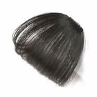 100% Real Human Hair Clip in Fringe Light Breathable Air Bangs Front Hairpiece