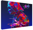 Star Wars Darth Vader Death Star Canvas Art HD Print (FRAMED), Fast Shipping!
