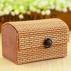 Display Bamboo Jewelry Box Storage Ring Necklace Earrings Adornment Fashion Hot