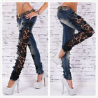 US Skinny Denim Jegging Pencil Pants Sexy Lace BOYFRIEND Jeans Trousers SALE