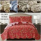 Quilt Bedspread Set 3 Piece - Jennifer By Glory Home Design- Assorted Queen-King image