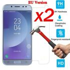 2x 9H Tempered Glass Film Screen Protector For Samsung Galaxy J3 J5 J7 Pro 2017