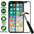 3D Curved Full Cover Tempered Glass Screen Protector For iPhone X 8 7 6S Plus