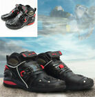 Men Motorcycle Boots Antiskid Abrasion Resistant Motorbike Cycling Racing Boots